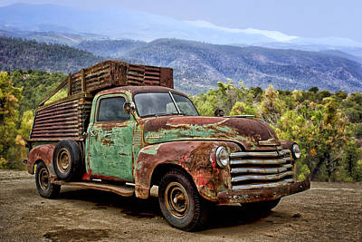 Old Chevrolet Photograph - Chevrolet Of The Mountains by Nikolyn McDonald