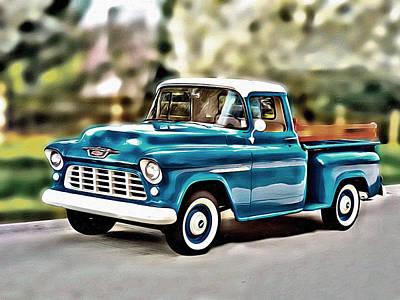 Photograph - Chevrolet Pickup 3100 by Carlos Diaz
