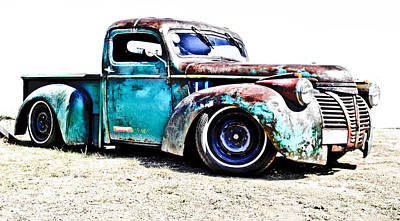 Chev Pickup Photograph - Chevrolet Pickup by Phil 'motography' Clark