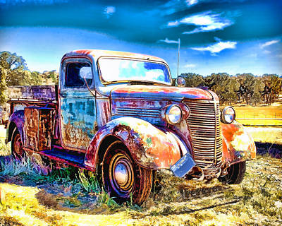 Photograph - Chevrolet Pickup Truck by William Havle