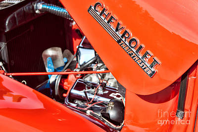 Photograph - Chevrolet Thriftmaster by Lawrence Burry