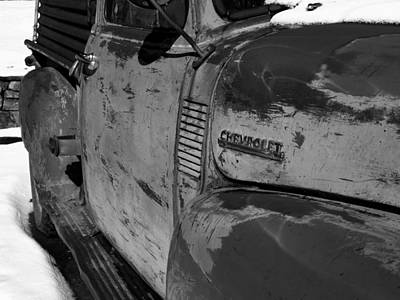 Chevy B/w Art Print by Gia Marie Houck