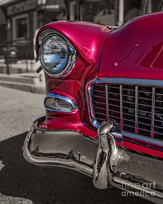 Chrome Grill Photograph - Chevy Bel Air by Edward Fielding