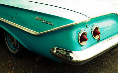 Photograph - Chevy Bel Air Fender by Marilyn Hunt