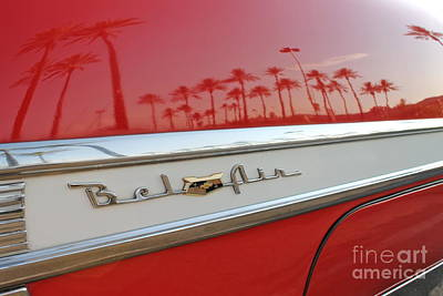 Photograph - Chevy Bel Air by Pamela Walrath