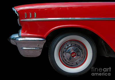 Photograph - Chevy Bel Air - Sf by Bianca Nadeau