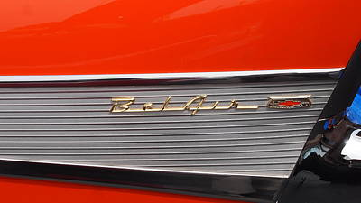 Photograph - Chevy Belair by Emery Graham