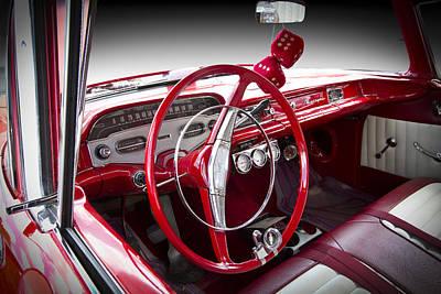 Chevrolet Biscayne Photograph - Chevy Biscayne by Debra and Dave Vanderlaan