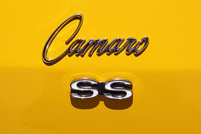 Photograph - Chevy Camaro Ss by Karen Scovill