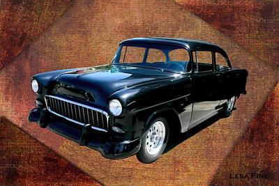 Auto Photograph - Chevy Car Art Nbr 459 by Lesa Fine