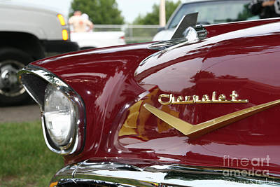 Photograph - Chevy Chevron by Susan Herber