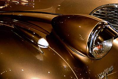 Photograph - Chevy Gold by Bob Wall