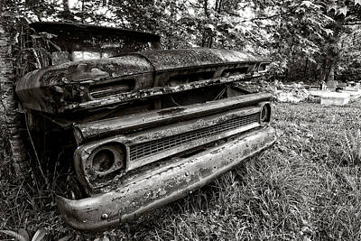Photograph - Chevy Graveyard II by Andy Crawford