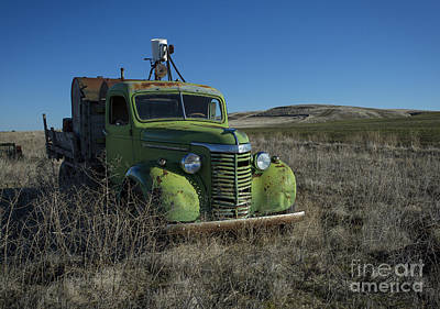 Photograph - Chevy Green by Idaho Scenic Images Linda Lantzy