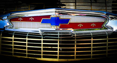 Photograph - Chevy Grill by Christy Usilton