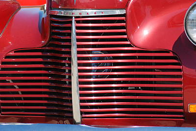 Queen - Chevy grill cover by Optical Playground By MP Ray