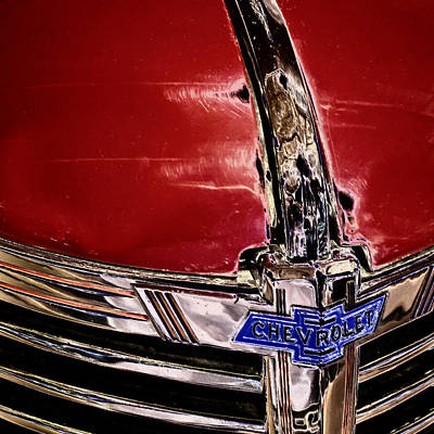 Chevy Grill Art Print by David Patterson