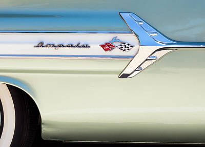 Cars Photograph - Chevy Impala Classic by Rospotte Photography