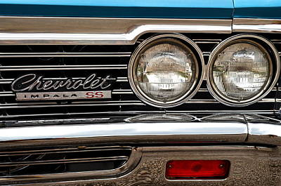 Photograph - Chevy Impala by Frozen in Time Fine Art Photography