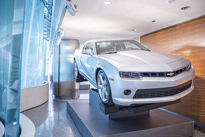 Photograph - Chevy In Renaissance Center by John McGraw