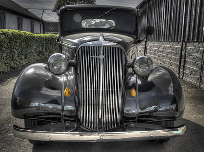 Photograph - Chevy by Jean Noren