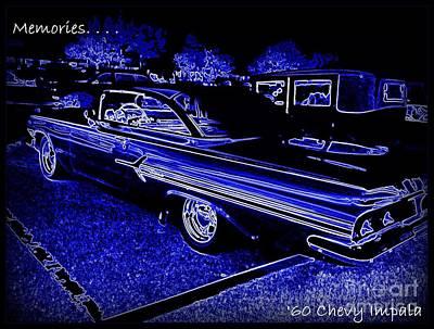Chevy Memories Art Print