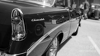 Chevy Reflections Art Print by Randall  Cogle