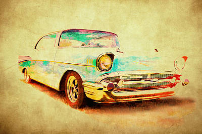 Photograph - Chevy Ride by Athena Mckinzie