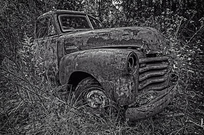 Photograph - Chevy Rust Bucket II by Andy Crawford