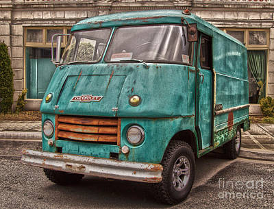 Photograph - Chevy Step Van by Sonya Lang