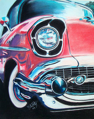 Painting - Chevy Style by Michael Foltz