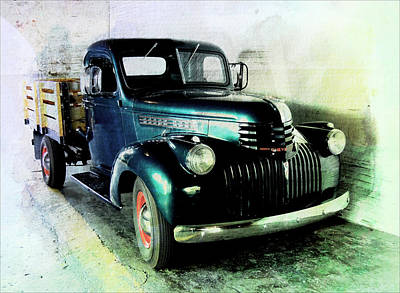 Photograph - Chevy Truck by Regina Arnold