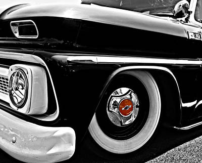 Photograph - Chevy Truckin by Kristie  Bonnewell