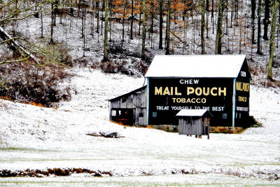 Photograph - Chew Mail Pouch by Emily Stauring