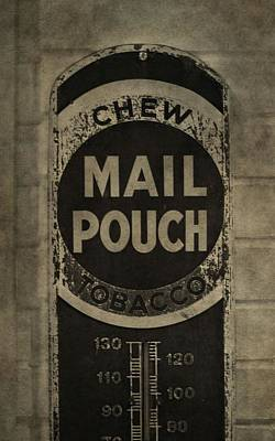 Mail Pouch Photograph - Chew Mail Pouch Tobacco by Dan Sproul
