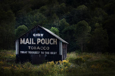 Tobacco Photograph - Chew Mailpouch by Tom Mc Nemar