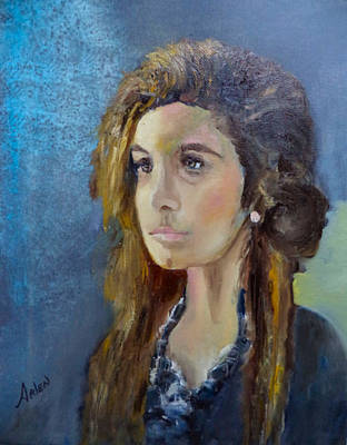 Painting - Cheyenne by Arlen Avernian - Thorensen