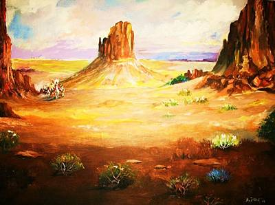 Painting - Cheyenne Autumn by Al Brown