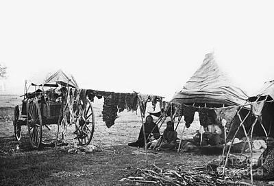 Photograph - Cheyenne Camp.  by Granger