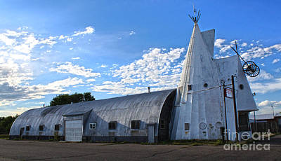 Cheyenne Wyoming Teepee - 01 Print by Gregory Dyer