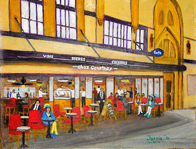 Painting - chez Courtney by Larry Farris