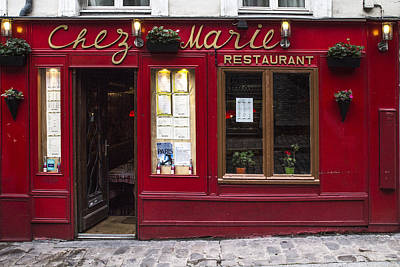 Chez Marie Art Print