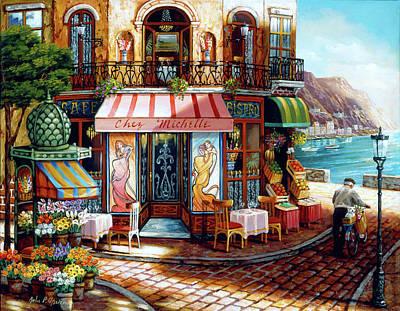 Painting - Chez Michelle by John P. O'brien