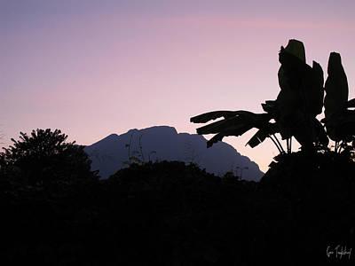 Mountain Photograph - Chiang Dao Sunset by Gene Tewksbury
