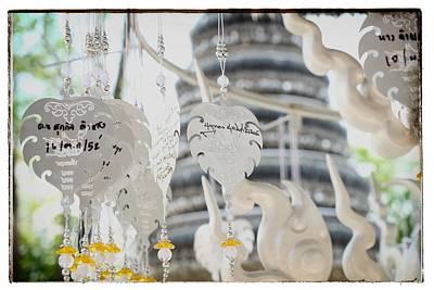 Chiang Rai Temple Art Print by River Engel