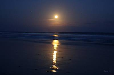 Photograph - chiaro di luna Moonlight by Amanda Holmes Tzafrir