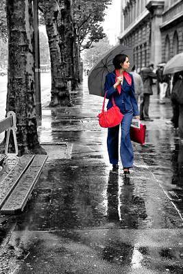 Rainy Day Photograph - Chic by Nikolyn McDonald