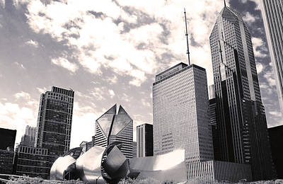 Photograph - Chicago Architecture by Milena Ilieva