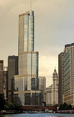 Photograph - Chicago Architecture Old And New by Julie Palencia