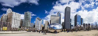 Photograph - Chicago Bean And Skyline by John McGraw